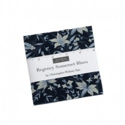 Charm Pack Regency Somerset Blues